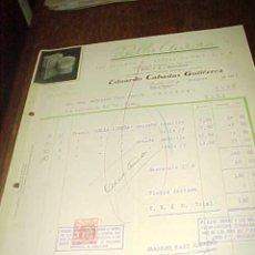 Facturas antiguas: BELLA AURORA. THE STILLMAN Cº AURORA ILLINOIS, E.U.A. FACTURA DE DISTRIBUIDOR. MALAGA 1943.. Lote 19726812