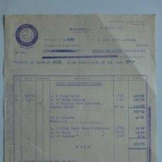 Facturas antiguas: FACTURA. BARCELONA. ENERO 1943. TEXTIL MARTI, LLOPART Y TRENCHS, S. A.. Lote 29599702