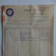 Facturas antiguas: FACTURA. BARCELONA. ABRIL 1956. MARTI, LLOPART Y TRENCHS, S. A. TEXTIL.. Lote 29795736
