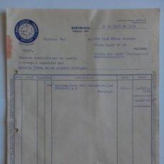 Facturas antiguas: FACTURA. BARCELONA. MAYO 1954. TEXTIL MARTI, LLOPART Y TRENCHS.. Lote 29876954