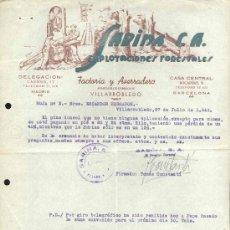 Facturas antiguas: AÑO 1946.- FACTURA DE