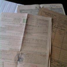 Facturas antiguas: RECIBOS DE VENTA DE TRIGO - AÑOS '40,'41,'42,'43 Y '47. Lote 42496582