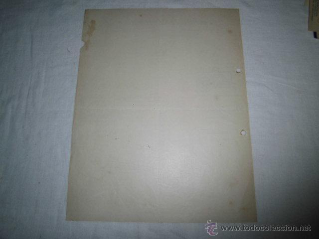 Facturas antiguas: ANTIGUA FACTURA ARCADIO D.DE CORCUERA S.A. ALMACEN DE MAQUINARIA BILBAO 1925 - Foto 2 - 46500947