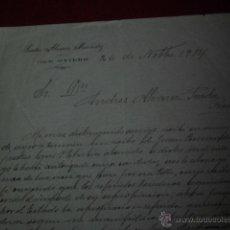 Facturas antiguas: ANTIGUA FACTURA SANTOS ALVAREZ MENENDEZ OVIEDO 1914. Lote 47956109