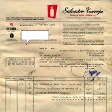 Fatture antiche: SALVADOR TORROJA -ETERMA- FACTURA AÑO 1958. Lote 48109797