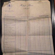 Facturas antiguas: FACTURA HOTEL PLAZA MADRID 1954. Lote 50876409