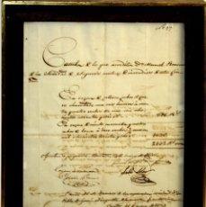 Facturas antiguas: I2-032. FACTURA TRANSPORTE DE BOMBAS CONTRA INCENDIOS PARA AYUNTAMIENTO BARCELONA. 1839.. Lote 56635401