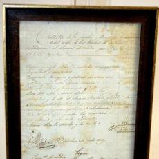 Facturas antiguas: I2-042. MANUSCRITO. PAGO DE LA SOCIEDAD DE SEGUROS MUTUOS DE INCENDIO DE BARCELONA.1839.. Lote 56738708