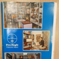 Facturas antiguas: MAGIA, ILUSIONISMO.CATALOGO AÑO 1994 TIENDA PRO-MAGIC ILUSIONISMO, MAGIA, 114 PAGINAS. Lote 56955992