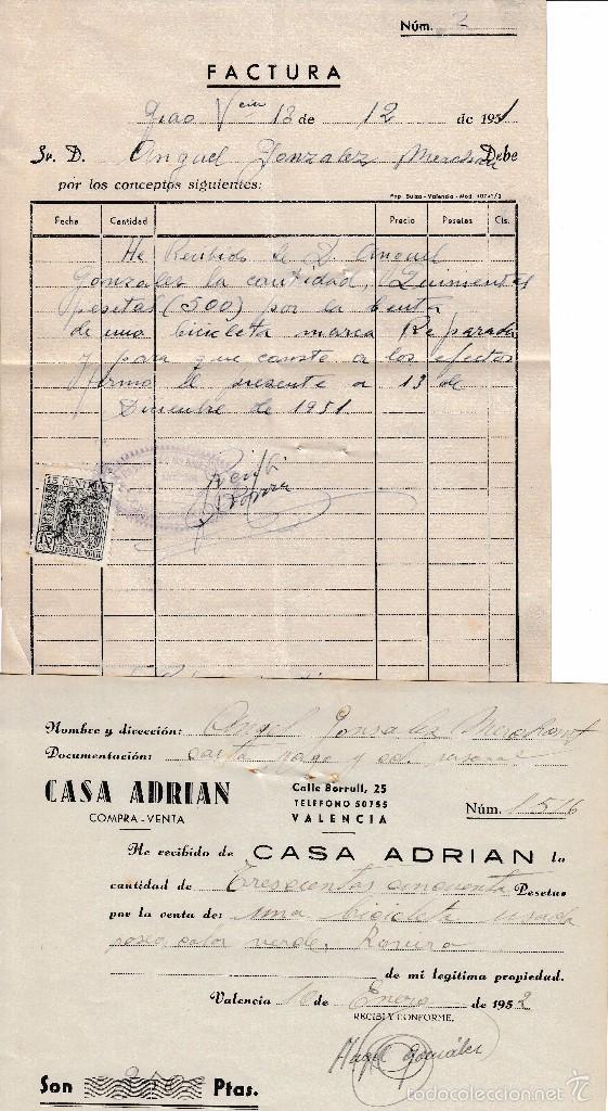 1952 venta a casa adrian bicicl comprar - Reparacion relojes antiguos valencia ...