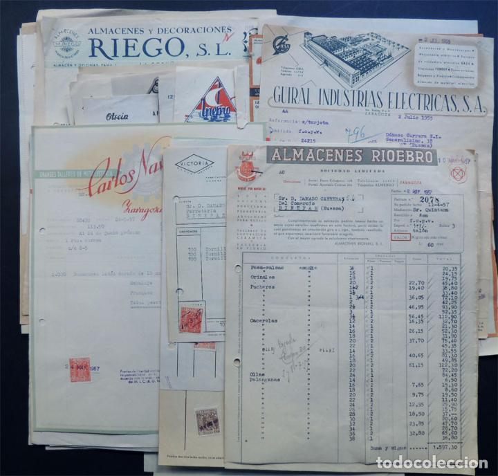 coleccion de 90 facturas diferentes de comercio - Comprar Facturas ...