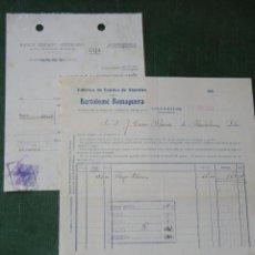 Facturas antiguas: FACTURA FABRICA TEJIDOS DE ALGODON BARTOLOME ROMAGUERA, LLUCHMAYOR, (LLUCMAJOR) MALLORCA 1931. Lote 68305445