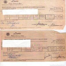 Facturas antiguas: FACTURAS DE SEGUROS . Lote 73026607