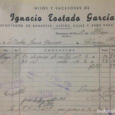 Facturas antiguas: ANTIGUA FACTURA MONTEMAYOR DEL RIO SALAMANCA 1951. Lote 84344984
