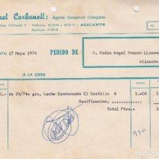 Lubricantes alasko agustin carrascosa carbonel comprar facturas antiguas en todocoleccion - Agente comercial colegiado ...