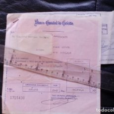 Facturas antiguas: FACTURA DE MADERAS FALOMIR Y RECIBO DEL BANCO - EN ARTANA ( CASTELLON ) 26 - JULIO - 1979. Lote 92098595