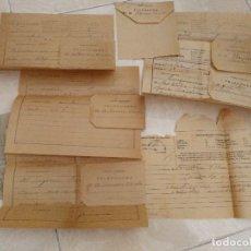 Faturas antigas: LOTE DE TELEFONEMAS DIRIGIDOS AL QUE FUERA ALCALDE DE EL PUERTO DE STA. MARIA RAMON VARELA.. Lote 95418639