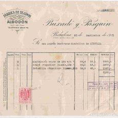 Facturas antiguas: BUXADÉ Y PASQUÍN, BARNA., FACTURA NO. 1944 DEL 25-9-1951 A ANDRÉS CONTRERAS, LIBRILLA. Lote 95933935