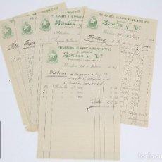 Facturas antiguas: ANTIGUAS FACTURAS - BAZAR ESPERANTISTA SUCURSAL DE BENÍTEZ Y CÍA. - BARCELONA, 1927. Lote 97933571
