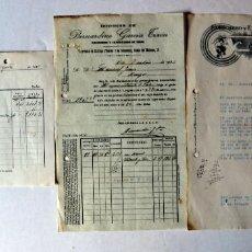 Facturas antiguas: LOTE DE ANTIGUAS FACTURAS DE EXPORTADORES DE VINOS. TOLEDO.AÑOS 30. Lote 97993883