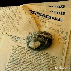 Facturas antiguas: FACTURAS CONSTRUCCIONES PALAU (AÑO 1959) OBRAS EN MATADERO MUNICIPAL DE SABADELL BARCELONA. Lote 102650099