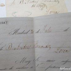 Facturas antiguas: ANTIGUA FACTURA DE:ERNESTO BERNAUDAT-1869. Lote 111877879