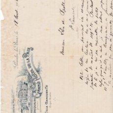 Facturas antiguas: GRAN HOTEL DE LA PAIX VILLA MARGUERITE FRANCIA 1903. Lote 112957855