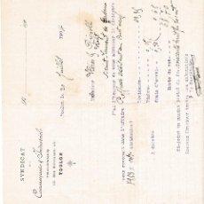 Facturas antiguas: SYNDICAT TOULON FRANCIA 1904. Lote 112958471