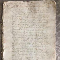 Facturas antiguas: 1413 - CASA DE LARA Y MOLINA, SEÑORES DE TEROS. VENTA DEL LUGAR DE TEROS. Lote 113918367