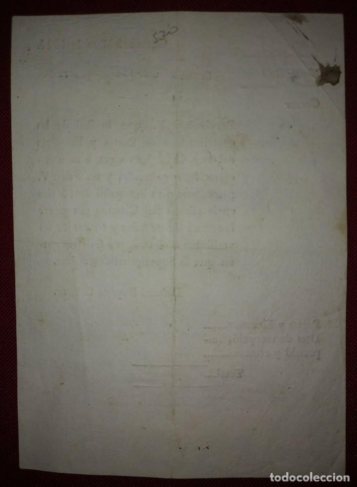 Facturas antiguas: Factura de 1811 Catalán antiguo, excelente estado Contribuciones puertas y ventanas Girona català - Foto 3 - 117478907