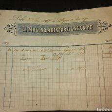 Facturas antiguas: FACTURAS SIGLO XIX 1858. Lote 125323328