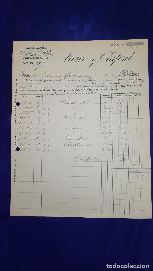 c05c0caa07f3 antigua factura almacen bisuteria y quincalla m - Comprar Facturas ...