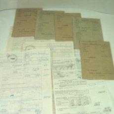 Facturas antiguas: 10X SOBRE+NOMINA-OPERARIO AÑOS 70-EMPRES PRIVASA PRIMITIVA VALENCIA-QUART DE POBLET SALARIO JORNAL 5. Lote 133699154