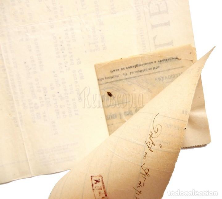 Facturas antiguas: FACTURA IMPRENTA LITOGRAFÍA RELIEVES BASA Y PAGES. BARCELONA 1930 - Foto 2 - 148226614