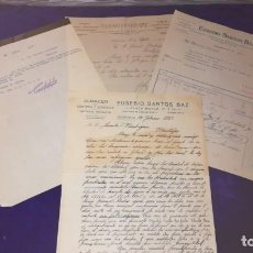 Facturas antiguas: LOTE ANTIGUAS FACTURAS DE SALAMANCA, AÑOS 1915,1921. Lote 151408038