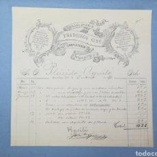 Facturas antiguas: FACTURA. FRANCISCO GINE. BARCELONA. 1891. Lote 151507920