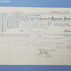 Facturas antiguas: FACTURA. SUCESOR DE RAMON SANS. BARCELONA. 1894. Lote 151508144