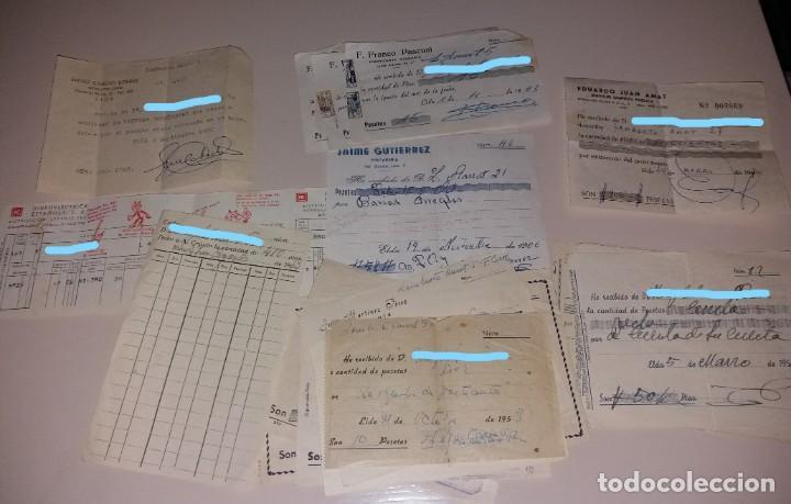 Facturas antiguas: Papel antiguo. Facturas y recibos recibís antiguas Elda - Foto 3 - 154871606