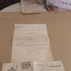 Facturas antiguas: CARTA COMERCIAL / LETRA JEREZ DE LA FRONTERA CADIZ GUTIERREZ HERMANOS 1932 . Lote 156861702