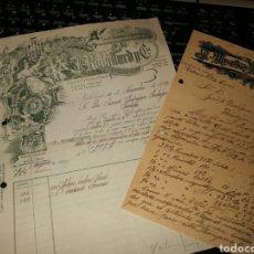 Facturas antiguas: FRABRICA DEXESENCIAS Y PERFUMES. VALENCIA 1922. Lote 157124110