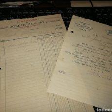 Facturas antiguas: JOSE DIAZ CALVO. ZAFRA. BADAJOZ. 1931. Lote 157126174