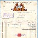 Facturas antiguas: ANTIGUA FACTURA DE MANUFACTURAS A.C.E. S.A.. - VITORIA 1952. Lote 160339886