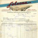 Facturas antiguas: ANTIGUA FACTURA DE GALLETAS Y CHOCOLATES SOLSONA-RIUS- BARCELONA 1952. Lote 160340610