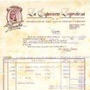 Facturas antiguas: ANTIGUA FACTURA DE LA ESPECIERA LOGROÑESA - LOGROÑO 1952. Lote 160340818