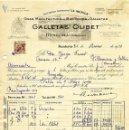 Facturas antiguas: ANTIGUA FACTURA DE GALLETAS OLIBET - RENTERÍA (GUIPUZCOA ) 1952. Lote 160340998