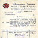 Facturas antiguas: ANTIGUA FACTURA DE CHAMPIÑONERA TUDELANA - TUDELA (NAVARRA ) 1961. Lote 160341122