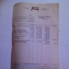 Facturas antiguas: FACTURA - PINTURAS TITAN. BARCELONA 1978. Lote 163488870