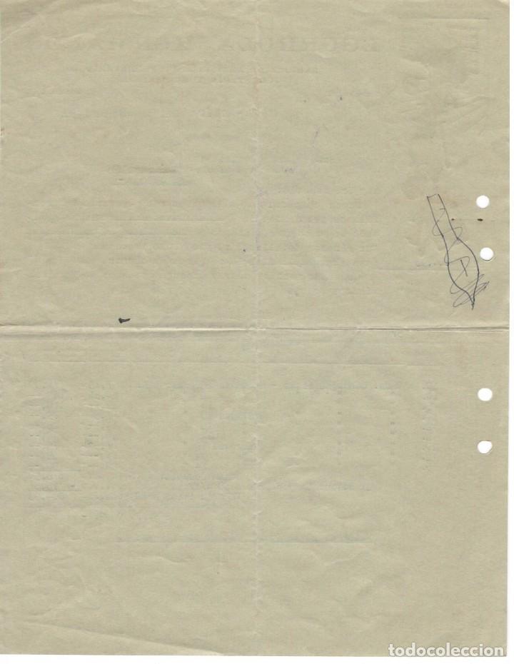 Facturas antiguas: Factura Eibar 1936 / Egurrola Hermanos - Fábrica de artículos de ferretería, juguetería y quincalla - Foto 2 - 166008062