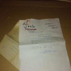 Facturas antiguas: EXCELENTE LOTE CONFITERIA LA PERLA CORDOBA 1961 - 65. Lote 168815608