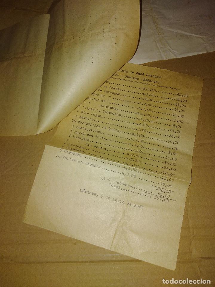 Facturas antiguas: excelente lote confiteria la perla cordoba 1961 - 65 - Foto 4 - 168815608